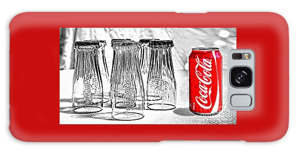 Coca-cola Ready To Drink By Kaye Menner Galaxy Case