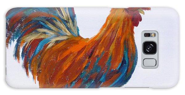 Cock-a-doodle-doo Galaxy Case by Diane Arlitt