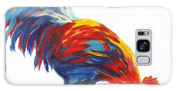 Cock-a-doodle-doo-too Galaxy Case by Diane Arlitt