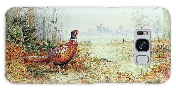 Cock Pheasant  Galaxy Case
