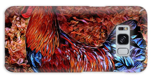 Cock Rooster Galaxy Case