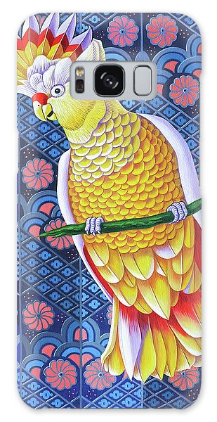 Cockatoo Galaxy Case by Jane Tattersfield