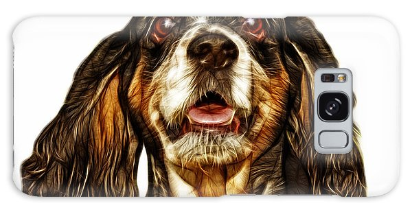 Cocker Spaniel Pop Art - 8249 - Wb Galaxy Case