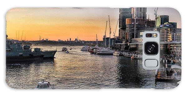 Cockle Bay Wharf Galaxy Case
