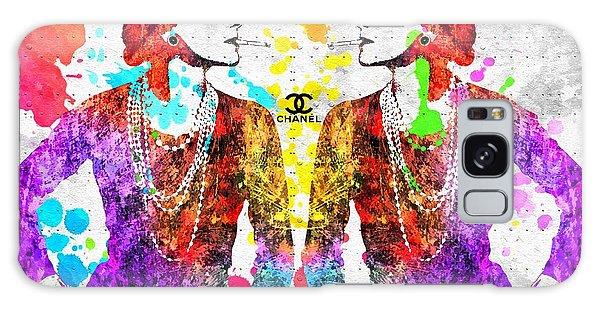 Coco Chanel Grunge 2 Galaxy Case