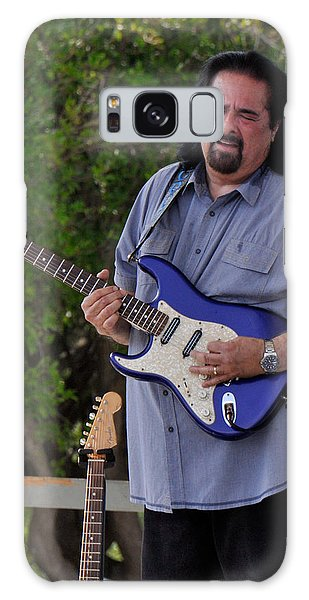 Coco Montoya And His Ocean Blue Fender American Standard Stratoc Galaxy Case