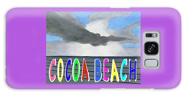 Cocoa Beach Poster T-shirt Galaxy Case