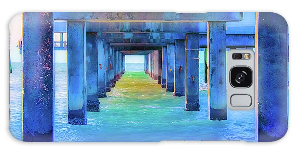 Cocoa Pier Galaxy Case