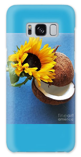 Coconut And Sunflower Harmony Galaxy Case