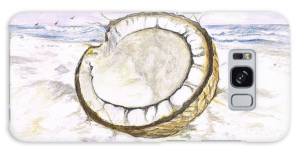Coconut Island Galaxy Case