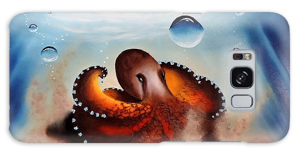 Coconut Octopus Galaxy Case
