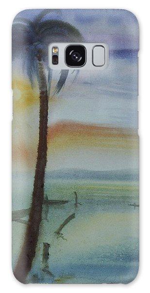 Coconut Palm Galaxy Case