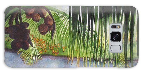 Coconut Tree Galaxy Case