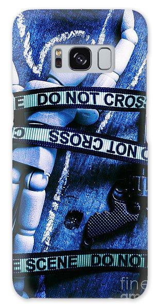 Guns Galaxy Case - Code Blue Csi by Jorgo Photography - Wall Art Gallery