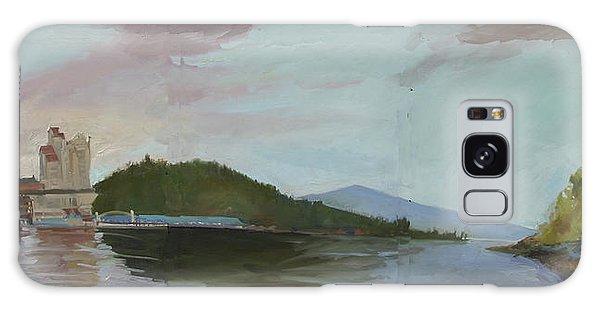 Coeur D Alene Lake    North  Idaho Galaxy Case