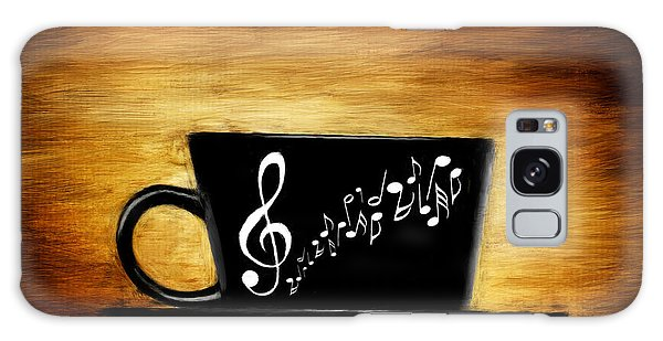 Coffee And Music Galaxy Case