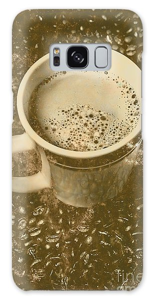 Cafe Galaxy Case - Coffee And Nostalgia by Jorgo Photography - Wall Art Gallery