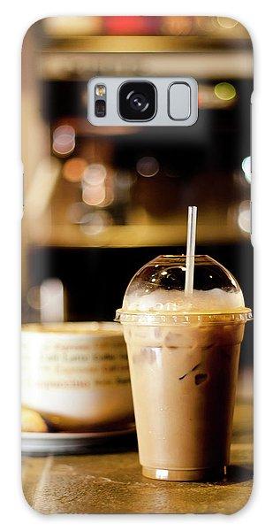 Coffee Bar Atmosphere Galaxy Case