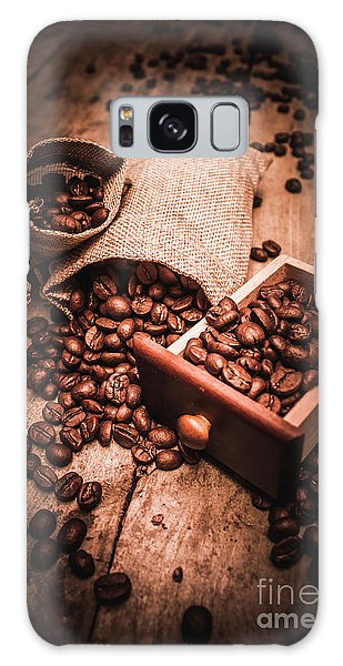Coffee Bean Art Galaxy Case by Jorgo Photography - Wall Art Gallery