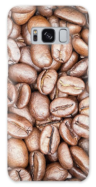 Coffee Beans Galaxy Case by Wim Lanclus