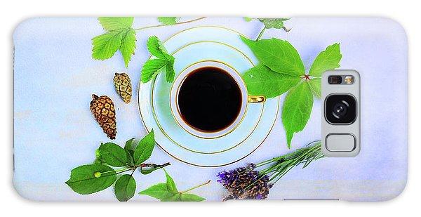 Coffee Delight Galaxy Case