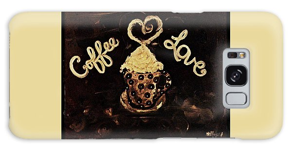 Coffee Love Galaxy Case by Sherry Flaker