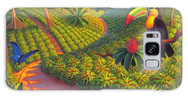Coffee Plantation Galaxy Case by Robin Moline