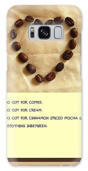 Coffee Shop Hopping Galaxy Case