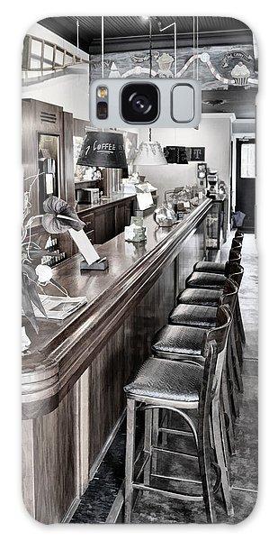 Coffee Shop Galaxy Case by Greg Jackson