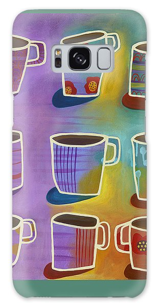 Galaxy Case featuring the painting Coffee Time by Carla Bank