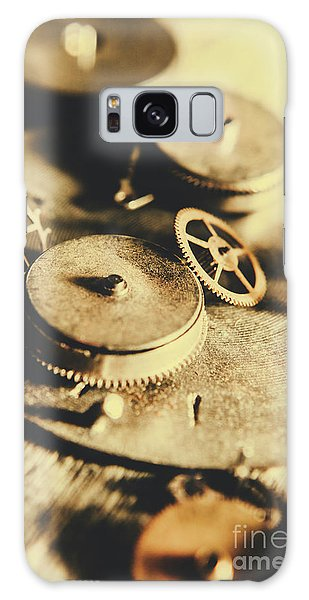 Metal Galaxy Case - Cog And Gear Workings by Jorgo Photography - Wall Art Gallery