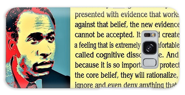 Cognitive Dissonance Frantz Fanon Galaxy Case