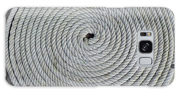 Coiled By D Hackett Galaxy Case
