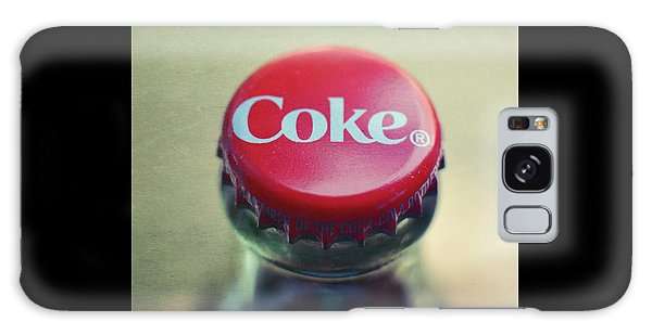 Coke Bottle Cap Square Galaxy Case by Terry DeLuco