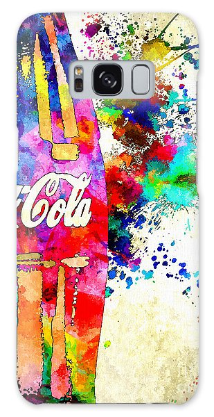 Cola Grunge Galaxy Case by Daniel Janda