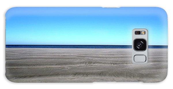 Cold Beach Day Galaxy Case