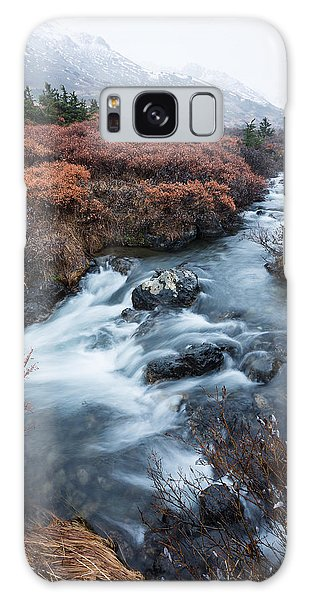 Cold Creek In Autumn Galaxy Case