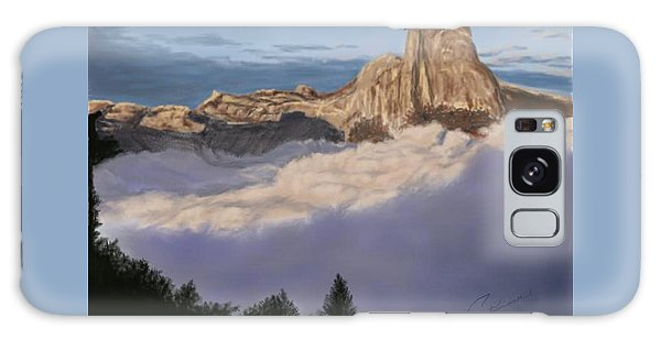 Cold Mountains Galaxy Case