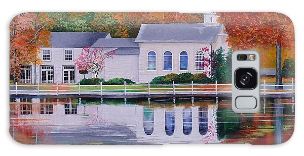 Cold Spring Harbor St Johns Church Galaxy Case