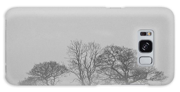 Cold Day Galaxy Case - Three Trees by Chris Dale