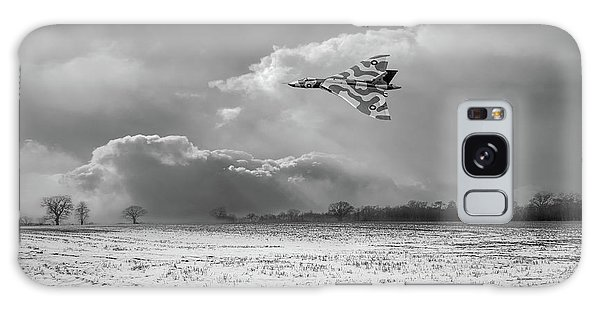 Galaxy Case featuring the photograph Cold War Warrior Bw Version by Gary Eason