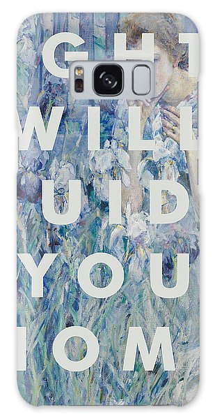 Coldplay Lyrics Print Galaxy Case