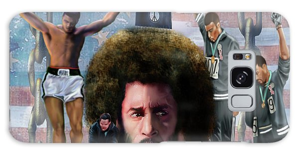 Colin Kaepernick Amongst The Brave Few 2a Galaxy Case