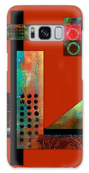Collage Abstract 1 Galaxy Case