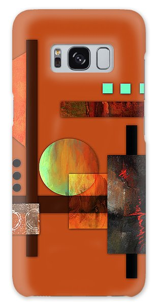 Collage Abstract 9 Galaxy Case