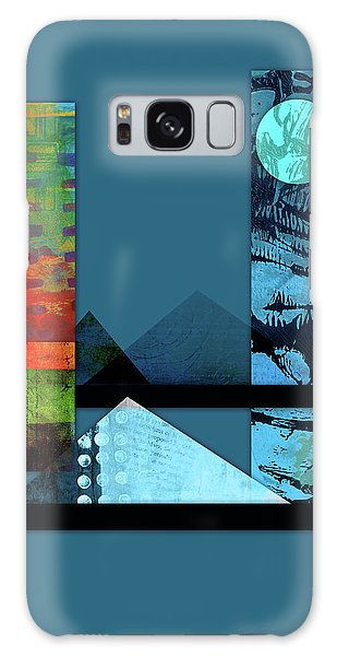 Collage Landscape 1 Galaxy Case