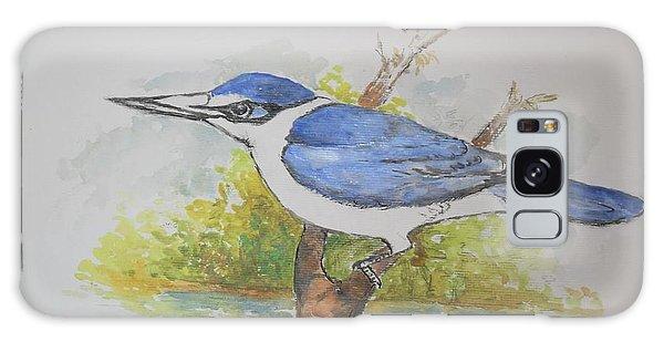 Collared Kingfisher Galaxy Case