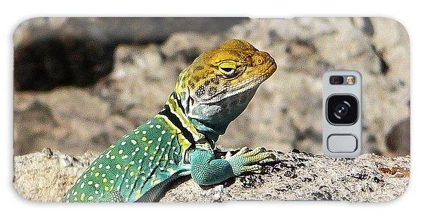 Collared Lizard Galaxy Case