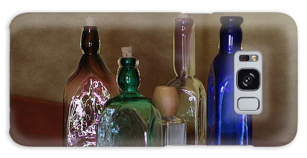 Collection Of Vintage Bottles Photograph Galaxy Case