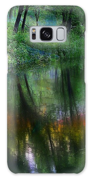 Collins Creek Reflections Galaxy Case by Jim Vance